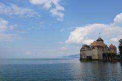 Het Kasteel van Chillon Royalty-vrije Stock Afbeeldingen