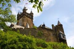 Het kasteel van Cochem Royalty-vrije Stock Foto's