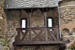 Het Kasteel van Cochem Stock Foto