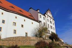 Het kasteel van Colditz Stock Foto