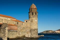 Het kasteel van Colliure Stock Afbeelding