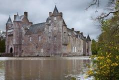 Het kasteel van Comper royalty-vrije stock foto's