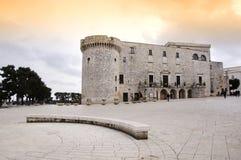 Het kasteel van Conversano Stock Fotografie