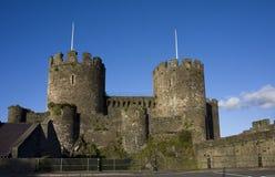 Het Kasteel van Conwy Royalty-vrije Stock Foto's