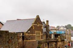 Het Kasteel van Conwy, Wales Royalty-vrije Stock Foto's