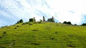 Het kasteel van Corfe dorset het UK Royalty-vrije Stock Afbeelding