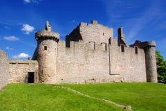 Het Kasteel van Craigmillar - Schotland stock afbeelding