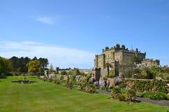 Het Kasteel van Culzean, Ayrshire op een zonnige dag Royalty-vrije Stock Foto