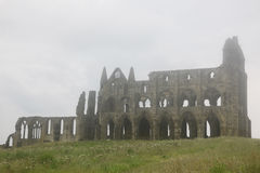 Het kasteel van de Abdij van Whitby royalty-vrije stock afbeeldingen