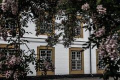 Het Kasteel van de Augustenborggroef stock foto