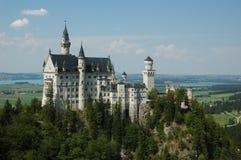 Het kasteel van de Fairytaledroom Royalty-vrije Stock Afbeelding