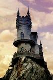 Het kasteel van de fantasie Royalty-vrije Stock Afbeelding