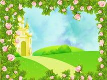Het kasteel van de fee vector illustratie
