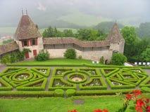 Het kasteel van de gruyère Royalty-vrije Stock Afbeelding