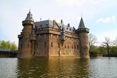 Het kasteel van DE Haar - Nederland Royalty-vrije Stock Fotografie