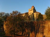 Het kasteel van de Herfst stock afbeeldingen