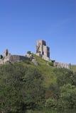 Het kasteel van de heuveltop royalty-vrije stock afbeeldingen