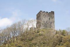 Het kasteel van de heuveltop Royalty-vrije Stock Foto