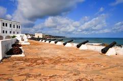 Het Kasteel van de kaapkust - Ghana royalty-vrije stock foto's