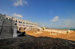Het Kasteel van de kaapkust - Ghana stock foto