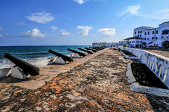 Het Kasteel van de kaapkust - Ghana royalty-vrije stock foto