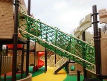 Het kasteel van de kinderenspeelplaats Royalty-vrije Stock Afbeelding