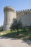Het Kasteel van de leeuw. Castiglione del Lago. Umbrië. Stock Afbeelding