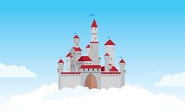 Het kasteel van de lucht Stock Fotografie