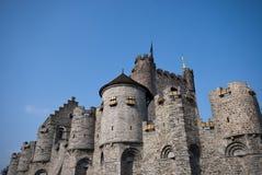 Het kasteel van de mijnheer Stock Fotografie