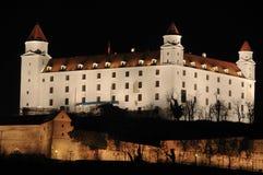 Het kasteel van de nacht Royalty-vrije Stock Afbeelding