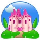 Het kasteel van de prinses Stock Foto's