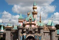 Het kasteel van de prinses in disneyland Royalty-vrije Stock Foto
