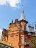 Het kasteel van de ridder Stock Afbeeldingen