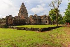 Het kasteel van de zandsteen, phanomrung Stock Afbeelding