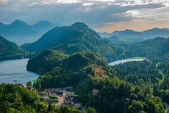 het kasteel van de zwaansteen Royalty-vrije Stock Afbeeldingen