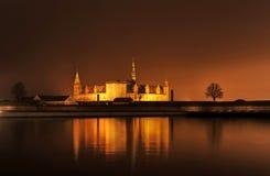 Het kasteel van Denemarken Kronborg royalty-vrije stock foto