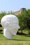 Het kasteel van Devin dichtbij Bratislava. Slowakije Royalty-vrije Stock Afbeelding