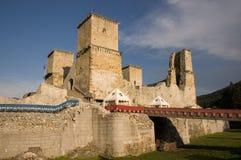 Het kasteel van Diosgyor stock foto's