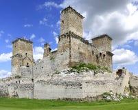 Het kasteel van Diosgyor in Hongarije stock foto