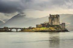 Het Kasteel van Donan van Eilean royalty-vrije stock afbeeldingen