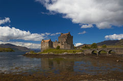 Het Kasteel van Donan van Eilean Royalty-vrije Stock Afbeelding