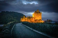 Het Kasteel van Donan van Eilean royalty-vrije stock foto