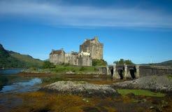Het Kasteel van Donan van Eilean Stock Foto's