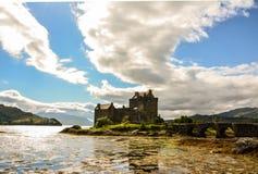 Het Kasteel van Donan van Eilean Kyle van Lochalsh Royalty-vrije Stock Foto