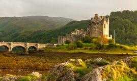 Het kasteel van Donan van Eilean, Schotland Stock Afbeelding