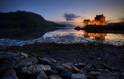 Het Kasteel van Donan van Eilean, Schotland Stock Foto