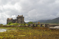 Het kasteel van Donan van Eilean, Schotland Stock Foto's