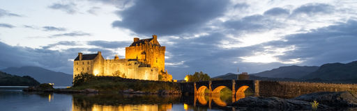 Het kasteel van Donan van Eilean, Schotland Royalty-vrije Stock Foto