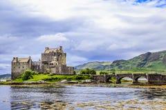 Het kasteel van Donan van Eilean, Schotland Stock Fotografie