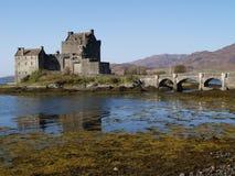 Het kasteel van Donan van Elian stock afbeelding